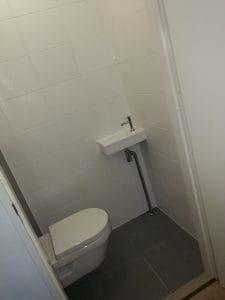 eindresultaat WC renovatie Floorplaza