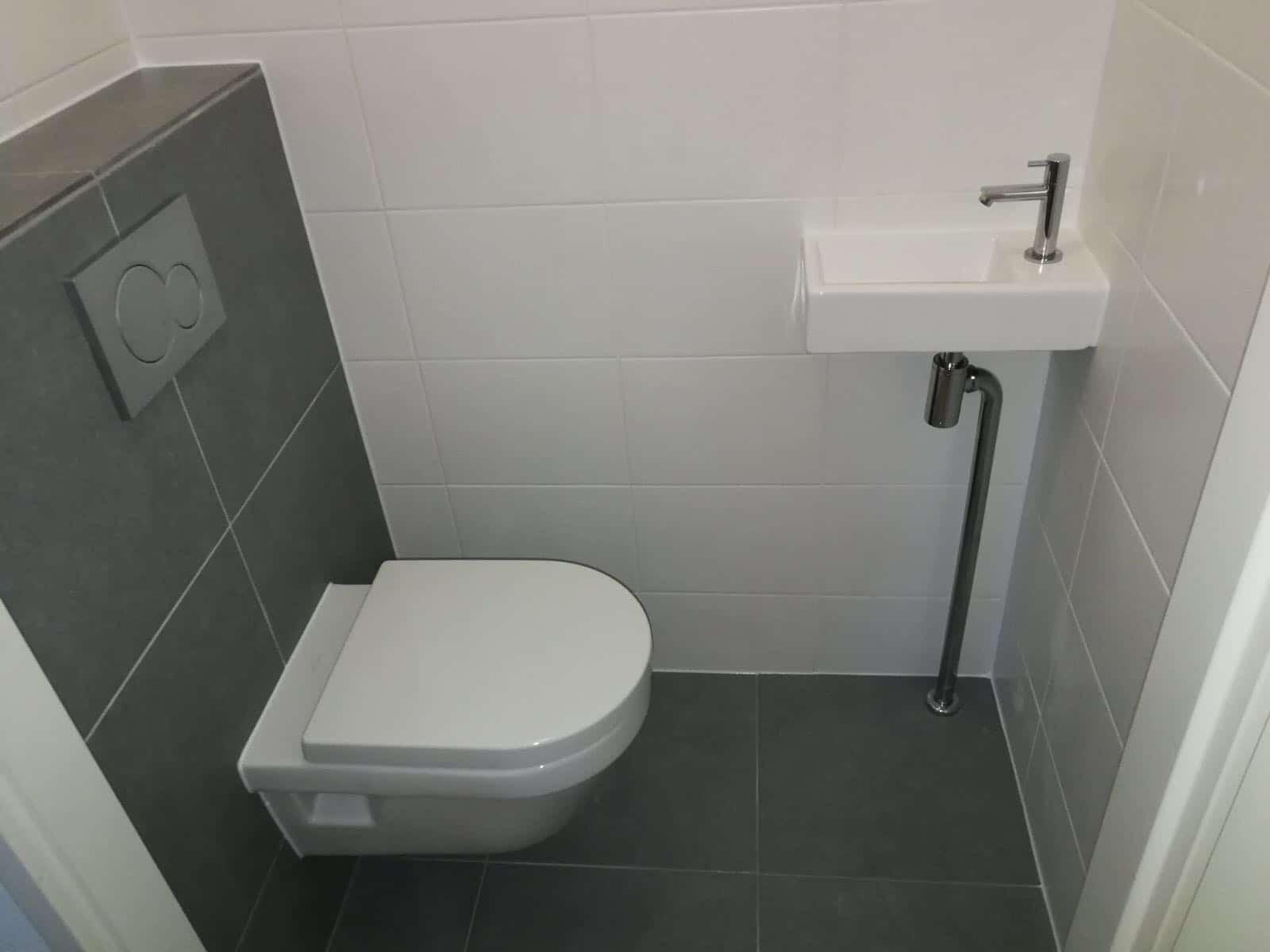 Toilet Renovatie Kosten : Renovatie toilet nieuwe tegels en wandafwerking