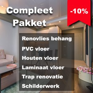 Complete pakketten met 10 % korting Floorplaza
