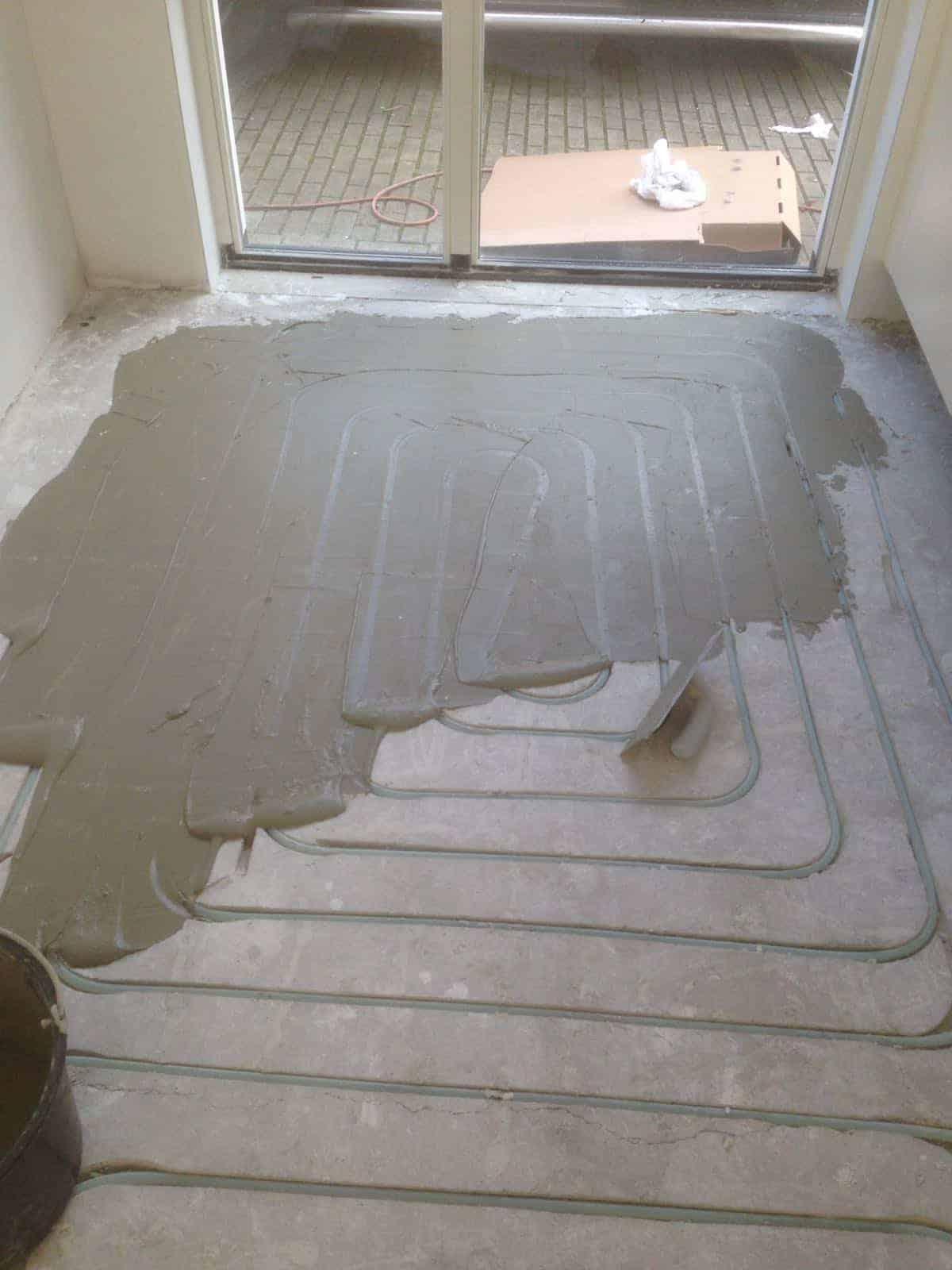 Vloer Verwarming Aanbrengen
