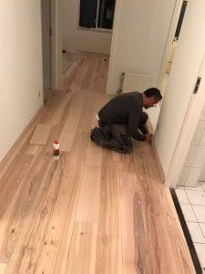 Plinten houten vloer