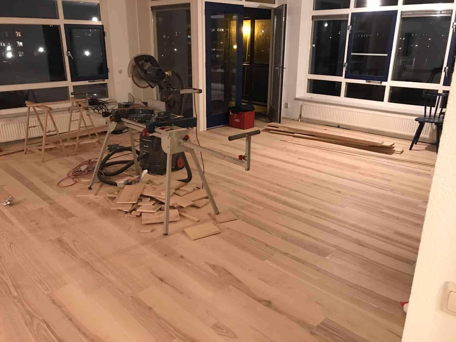 Houten Vloer Floorplaza Leggen